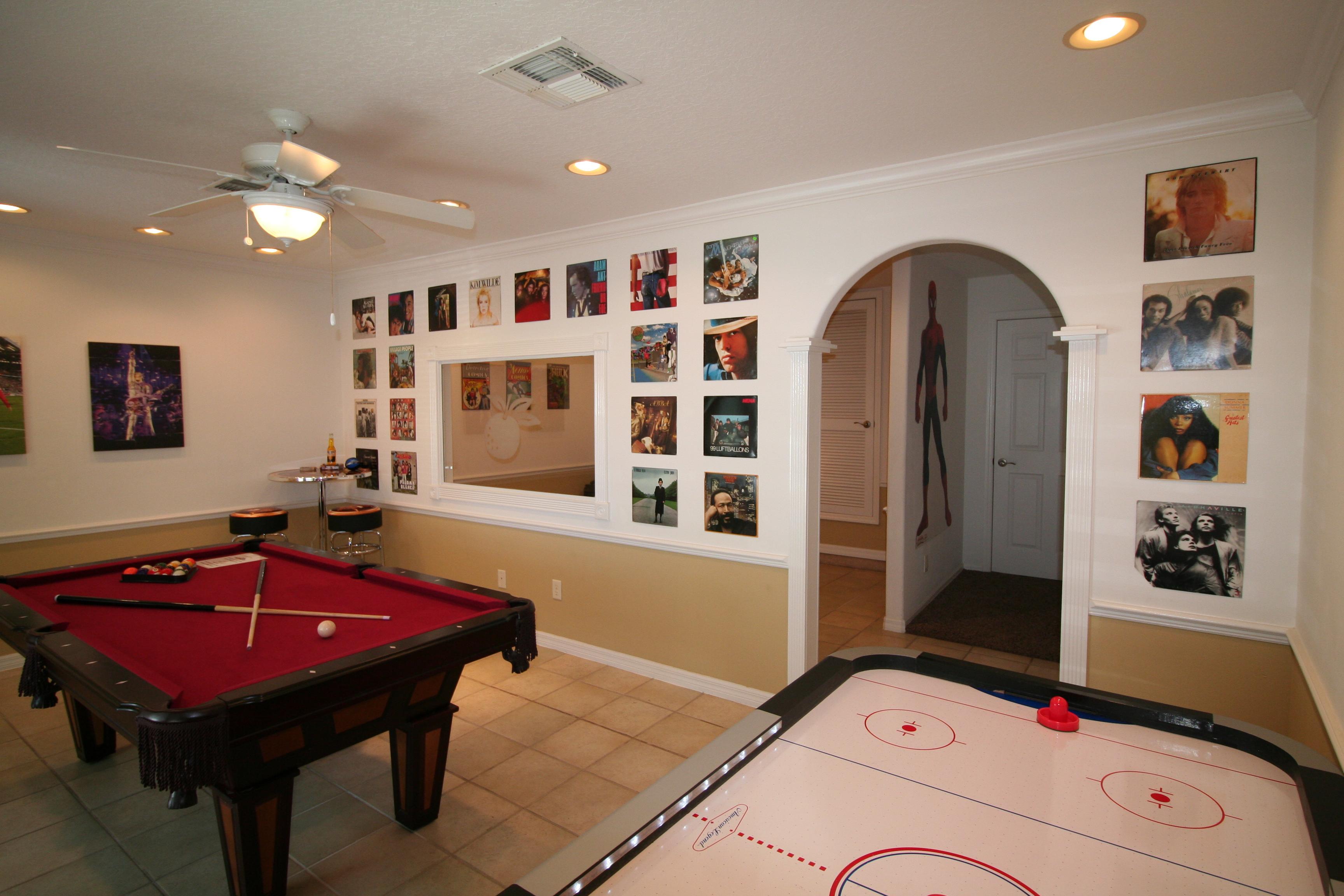 Game rooms ⋆ Villa LeVi-Style - a unique villa in Florida